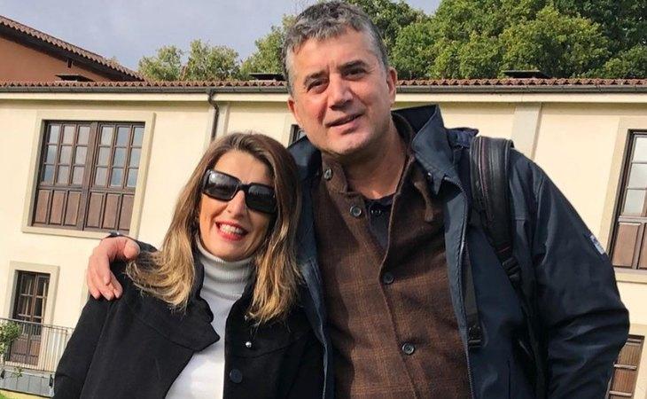 Yolanda Díaz y Juan Andrés Meizoso se casaron en 2004