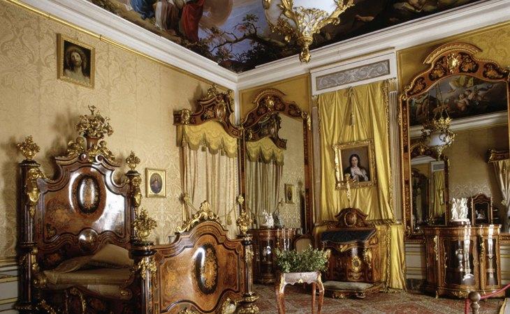 Una de las habitaciones del Palacio Real de Aranjuez