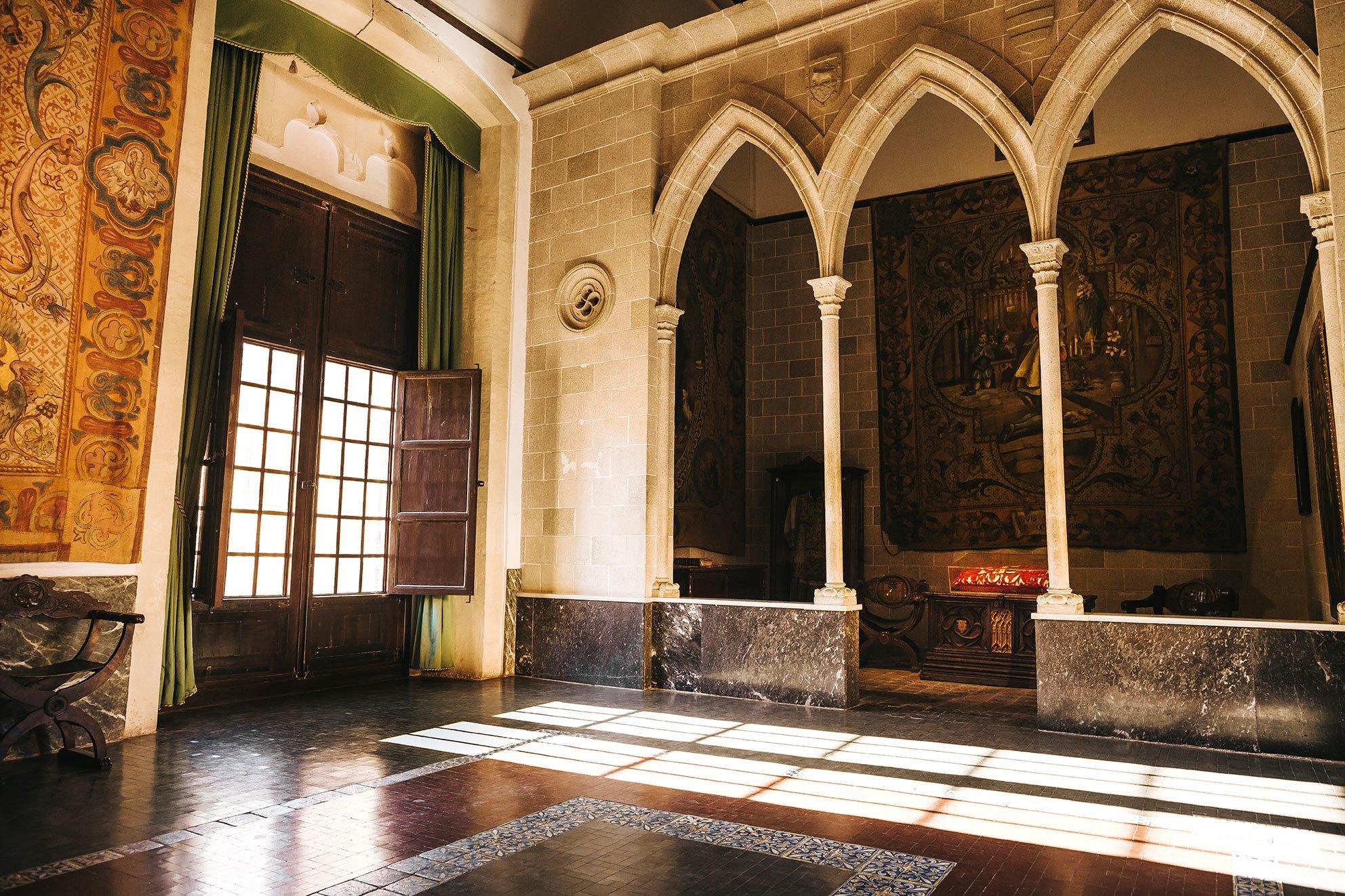 La Cámara de la Duquesa del Palacio de Gandía