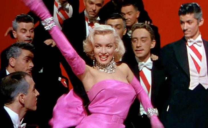 Marilyn Monroe en 'Los caballeros las prefieren rubias' (1953)