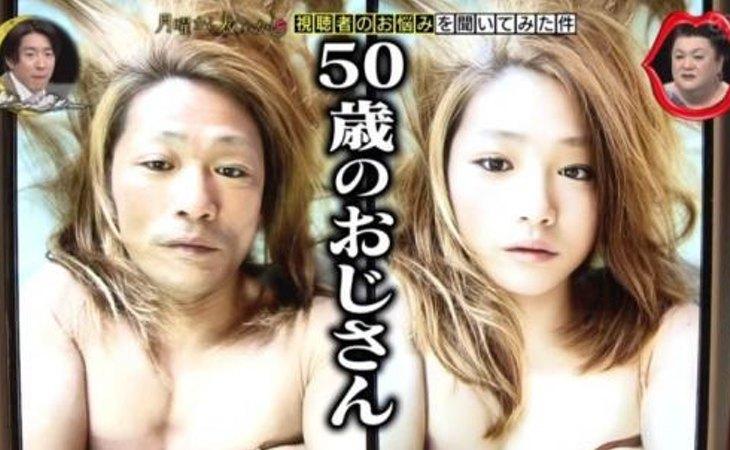 Con filtros cambiaba su apariencia de hombre de 50 años por el de una joven