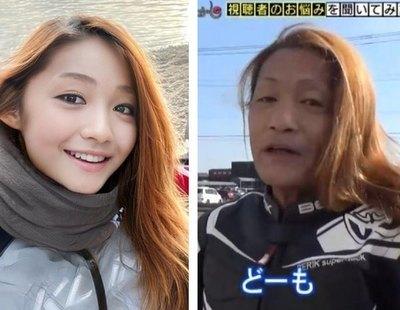 Esta joven influencer japonesa resulta ser un hombre de 50 años con filtros para parecer mujer