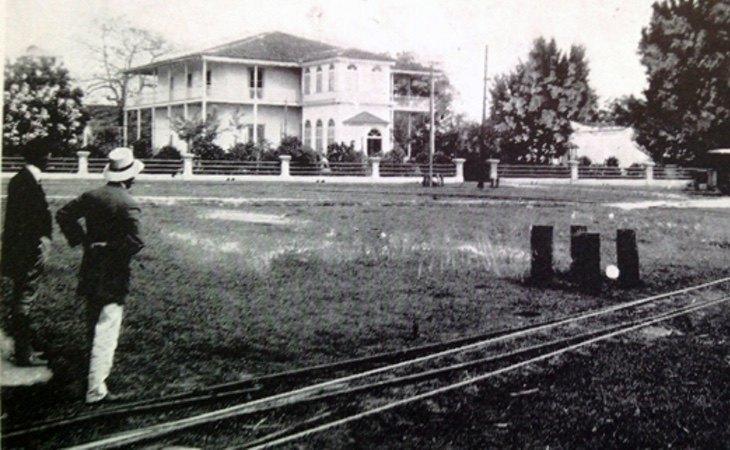 Central Manuelita en la época colonial