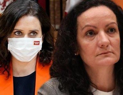 """La exresponsable de la pandemia que dimitió por la inacción de Ayuso: """"Meter miedo con los rojos suena tanto a Franco"""""""