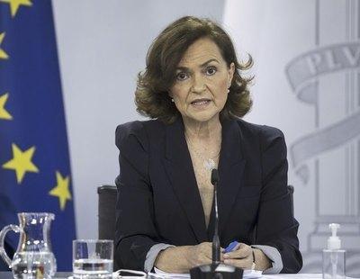 Carmen Calvo anuncia una ley que abolirá la prostitución en España