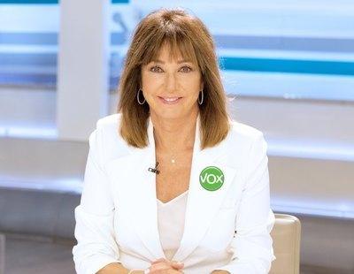 """Para sorpresa de nadie, Ana Rosa Quintana muestra su apoyo a VOX en Twitter: """"Caretas fuera"""""""