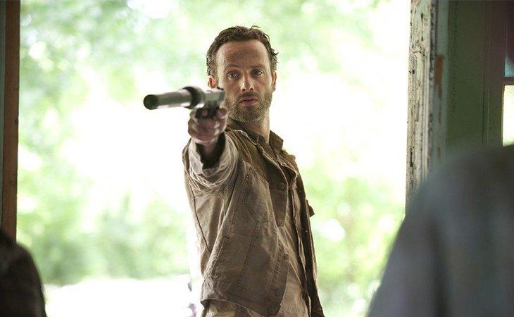 Andrew Lincoln es Rick Grimes en la adaptación televisiva de 'The Walking Dead'