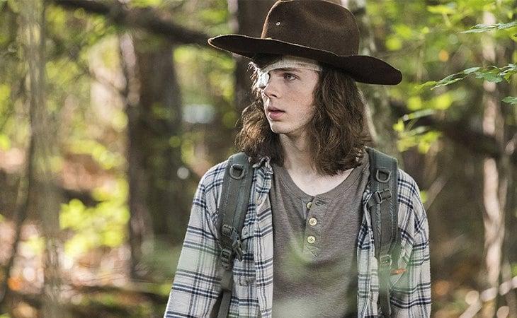 Chandler Riggs es Carl Grimes en la adaptación televisiva de 'The Walking Dead'