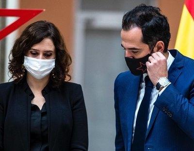 Ignacio Aguado reconoce que Ayuso se niega a dar ayudas directas a hostelería y pymes