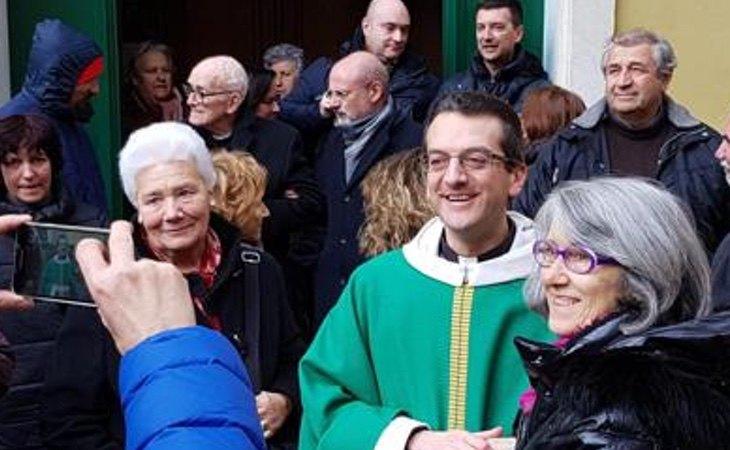 El párroco ha defendido las uniones homosexuales