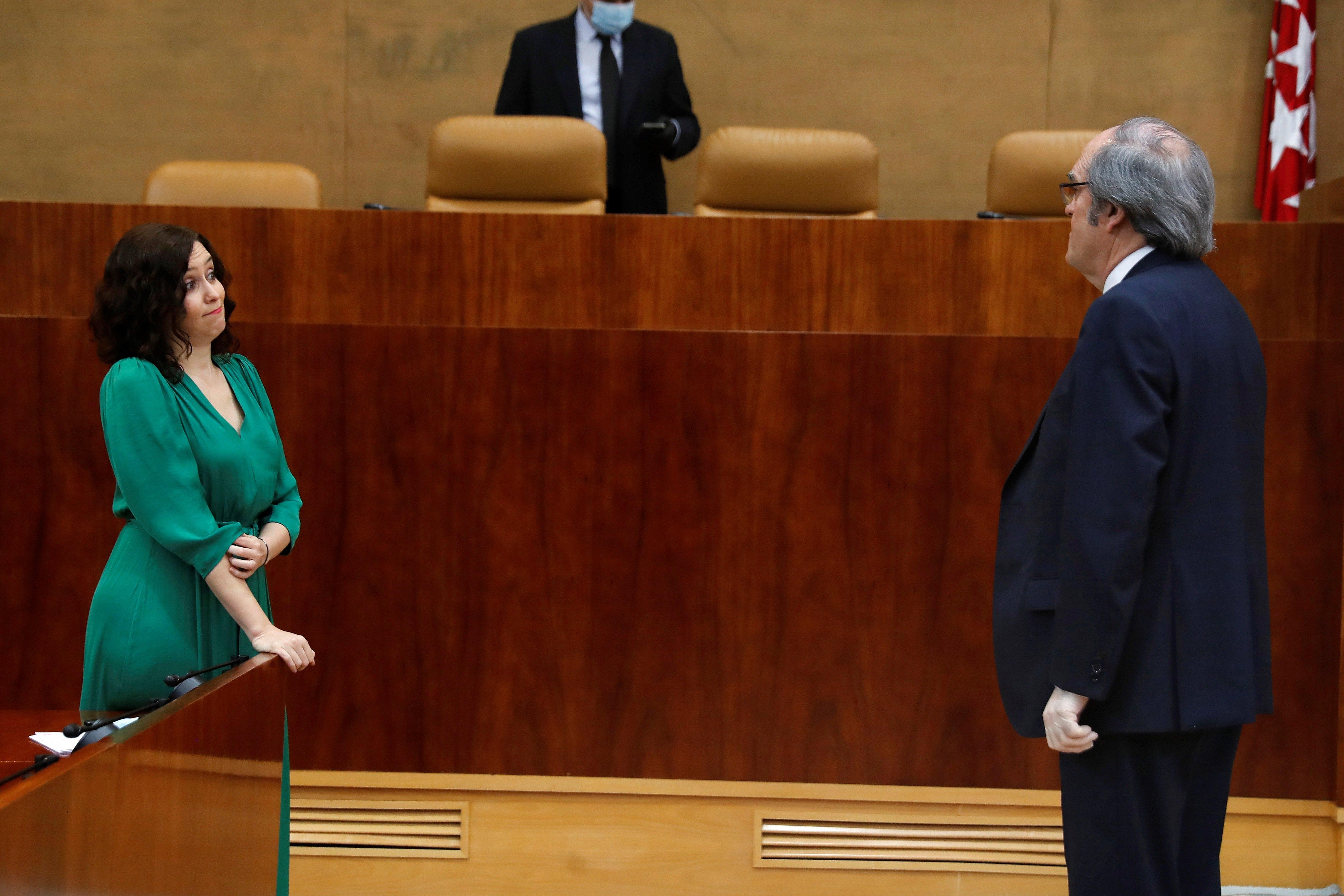 Gabilondo ha defendido la necesidad de un cambio en la Comunidad de Madrid