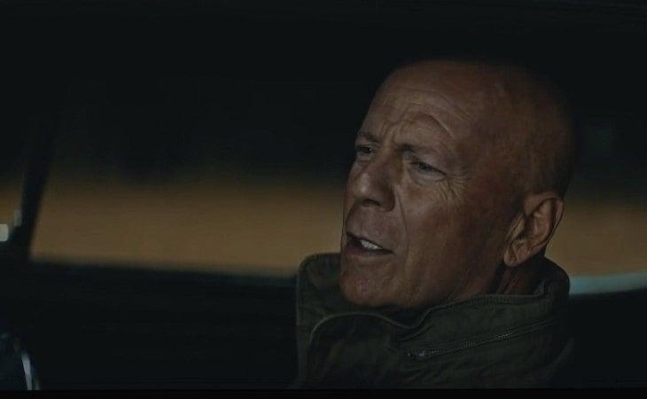 Fotograma de Bruce Willis en una película