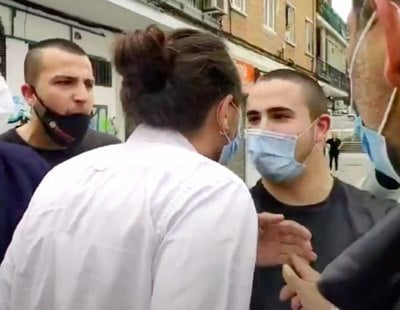 Así es Bastión Frontal, los neonazis que acosaron a Pablo Iglesias en Coslada