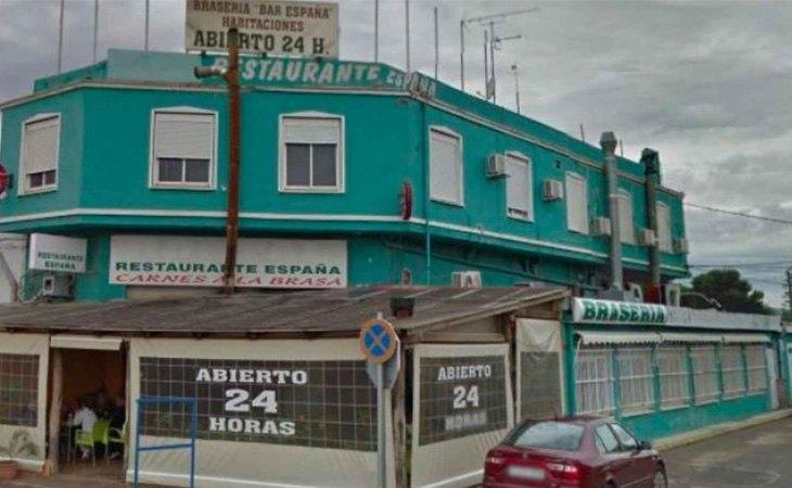 Bar España desde Google Maps