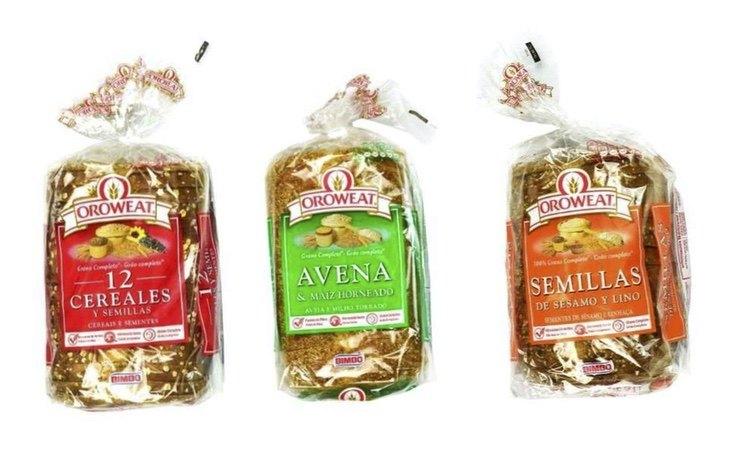 Los panes de Oroweat salen bien posicionados