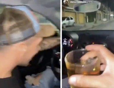 Dos jóvenes se graban bebiendo whisky antes de provocar un accidente con dos muertos y tres heridos
