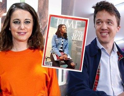 Andrea Levy intenta burlarse de Errejón y se lleva un zasca por la portada de Time