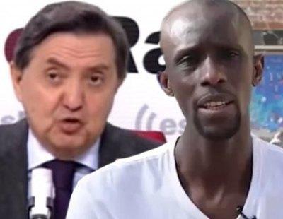 """Losantos vuelve a atacar a Serigne Mbayé: """"¿Te puedes quejar? Si no te devolvieron a Senegal"""""""