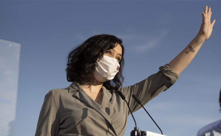 Isabel Díaz Ayuso propone ayudas a la tauromaquia