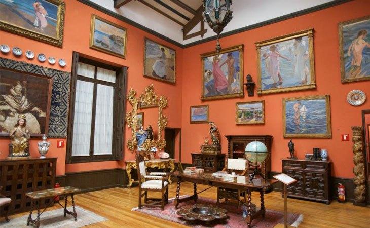 El estudio del Museo Sorolla