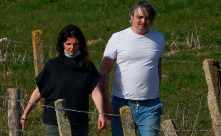 Katia y Pete disfrutando del paseo. Foto: Splash