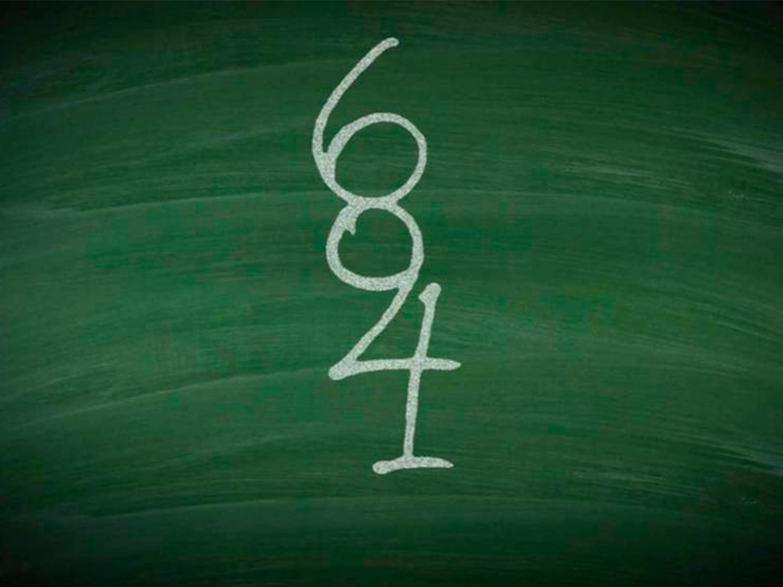 Nuevo reto viral: ¿Cuántos números hay en la pizarra?