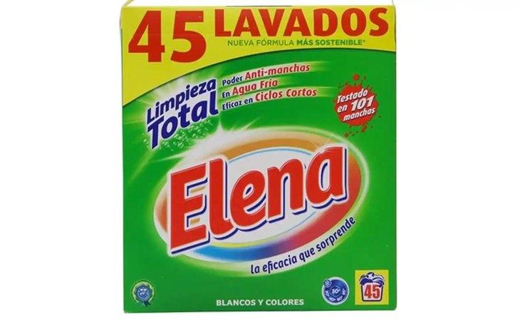 Elena Limpieza Total, entre los peores detergentes del mercado