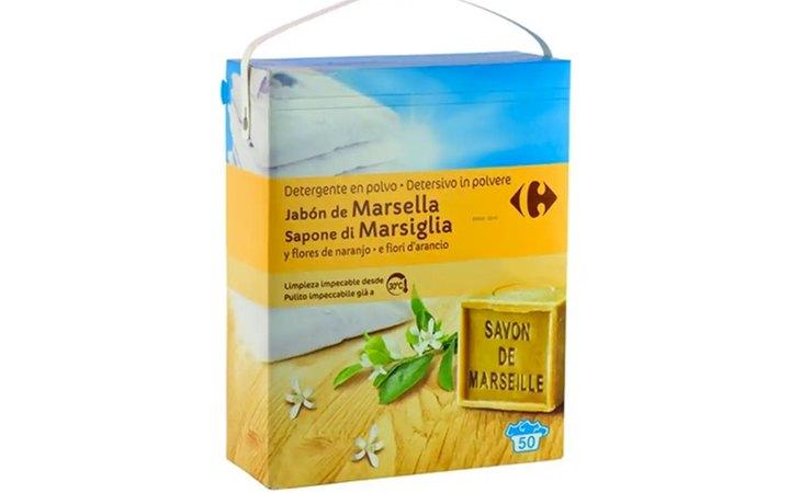 Carrefour Polvo Jabón de Marsella, entre los peores detergentes del mercado