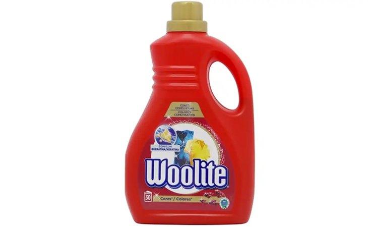 Woolite Detergente Colores, entre los peores detergentes del mercado