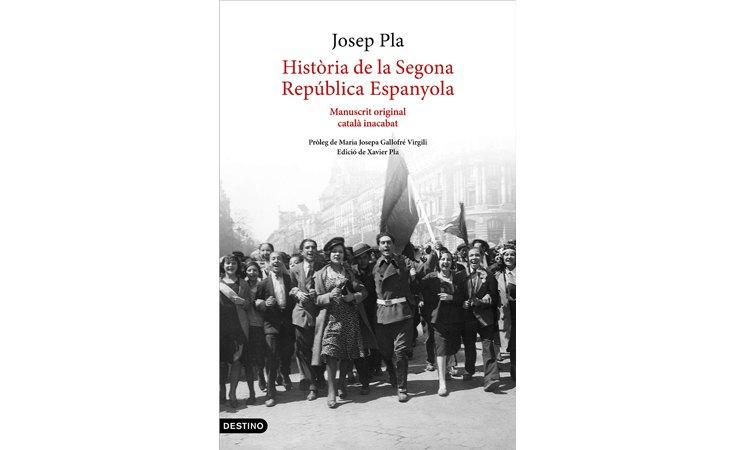 Portada de 'Història de la segona república espanyola'