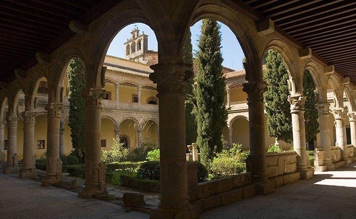 El monasterio de Yuste es altamente recomendable de visitar