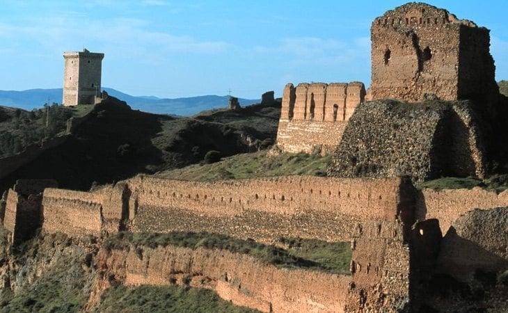 El castillo de Daroca es uno de sus atractivos