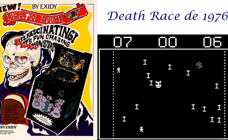 'Death Race', entre los videojuegos más polémicos de la historia