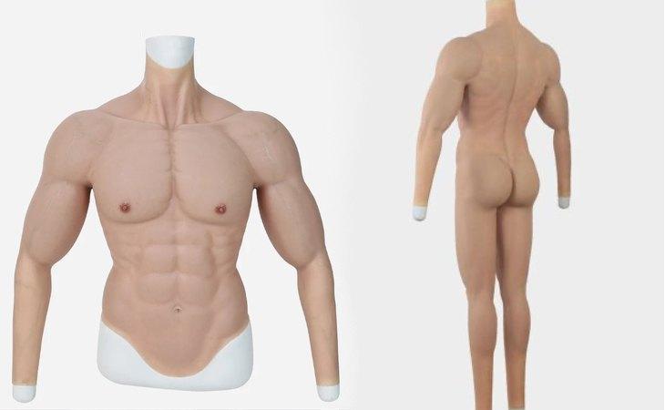 Algunos modelos de los bodies hiperrealistas