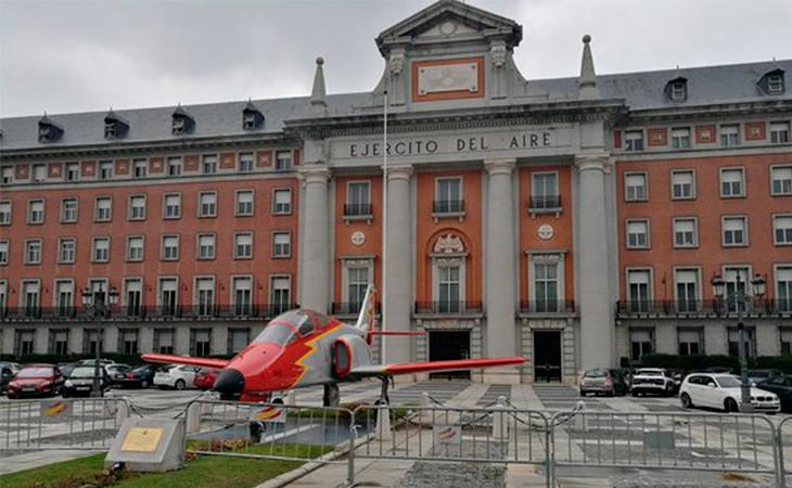 El avión se encuentra en Moncloa