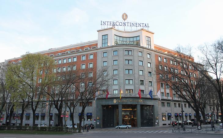 El antiguo hotel Castellana Hilton