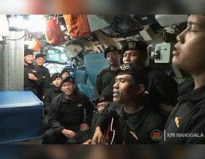 La canción que grabaron los marineros del submarino hundido antes de morir y emociona a Indonesia