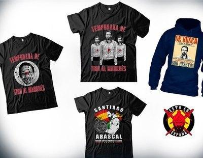 FACUA denuncia una tienda online que vende camisetas con imágenes de Pablo Iglesias ensangrentado