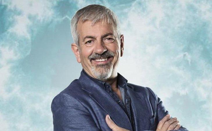 Carlos Sobera, uno de los rostros más populares de la televisión