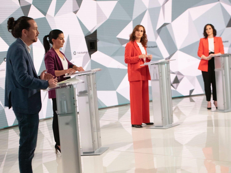 PP, VOX y Cs ocultan el coste de su campaña para el 4M: Más Madrid, el partido que menos ha gastado
