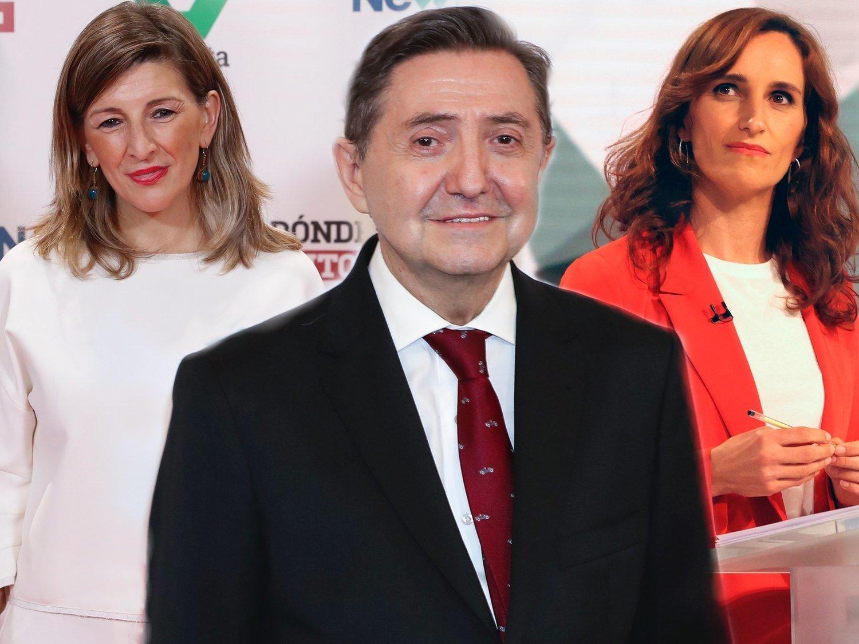 El asqueroso comentario machista de Losantos sobre los orgasmos de Yolanda Díaz y Mónica García