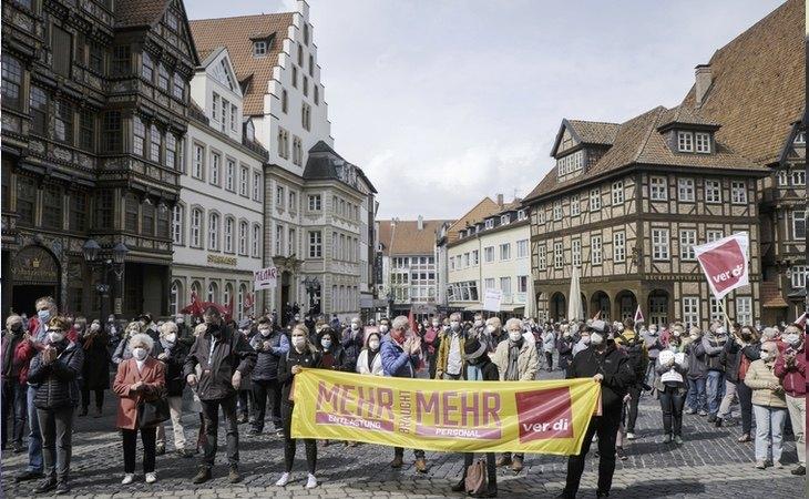 Las manifestaciones han tenido especial incidencia en Europa