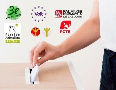 De Falange a Tercera Edad en Acción: 14 partidos que no tendrán diputados en Madrid