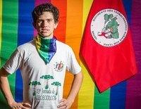 Queman y asesinan brutalmente a disparos al activista LGTBI Lindolfo Kosmaski, de 25 años, en Brasil