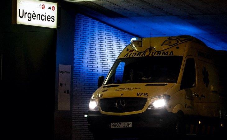 El hombre fue trasladado a Urgencias, pero no pudo salvar su vida