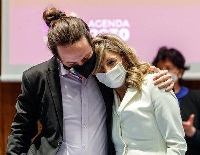 Tras la marcha de Pablo Iglesias, comienzan los bulos contra Yolanda Díaz