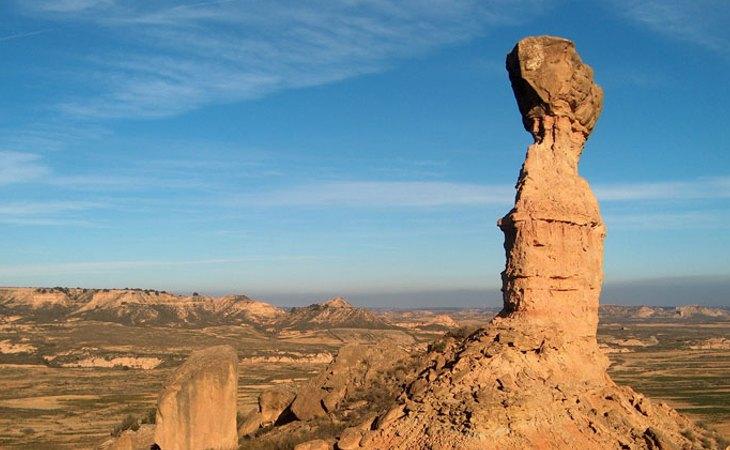 Desierto de los Monegros (Huesca y Zaragoza)
