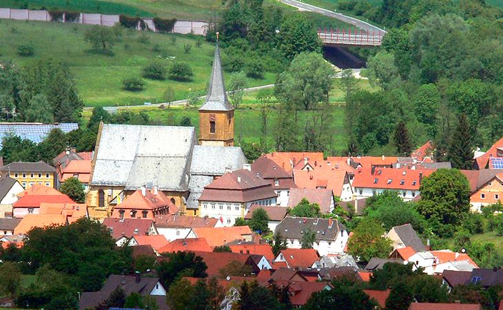 Esta es la pequeña ciudad de Scheßlitz