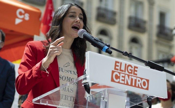 Inés Arrimadas se convierte en la líder peor valorada, por detrás de Santiago Abascal