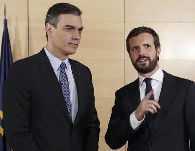 ¿Cambio de ciclo? Casado supera en votos y popularidad a Sánchez en una encuesta